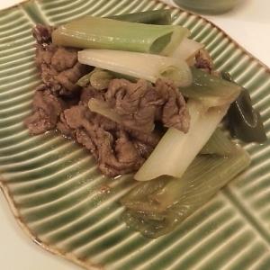 簡単!牛肉と長ネギの柔らか煮