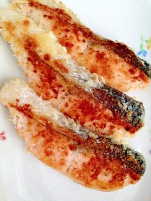 鮭のパン粉チーズ焼き