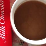 チョコレートとブランデーのコーヒー