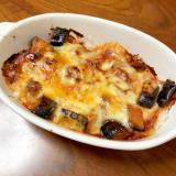 簡単夕食☆ナスのミートソースチーズドリア