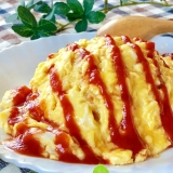 とろ〜り♡半熟卵のオムライス