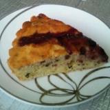 プロティンで♪ブルベリジャムと紅茶のケーキ!