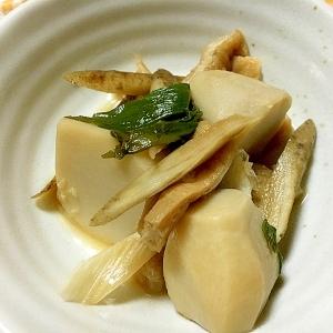 里芋とごぼうのあっさり煮物