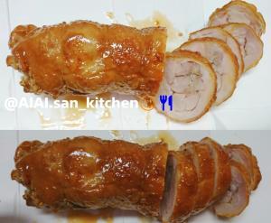 【チャーシュー】簡単 味ぽん鶏チャーシュー