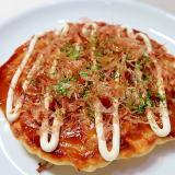キャベツと豚肉のシンプルお好み焼き☆減塩・低カリ