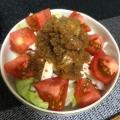 蒸し鶏のカンタン酢サラダ