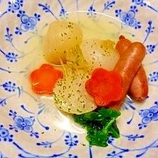 新玉葱と蕪☆スープ煮