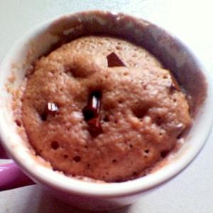 ホットケーキミックスでチョコココアマグカップケーキ