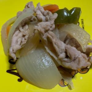 豚肉とお野菜のマヨポン炒め