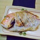 お祝いに★鯛の塩焼き