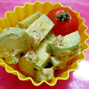 お弁当カップ~きゅうりの海苔マヨ和え~