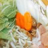 柔らか〜鶏胸肉の簡単水炊き鍋