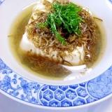 お手伝いレシピ 簡単朝食 めかぶ豆腐