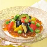 〔ひかり味噌公式〕夏野菜と味噌ゼリーのサラダ