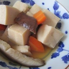 簡単本格和食、高野豆腐