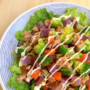 野菜丸ごと温サラダ