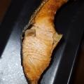 秋鮭のフライパン焼き