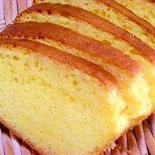天ぷら粉で☆しっとり黄金の卵ケーキ