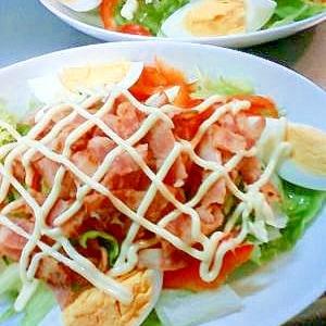 カリカリベーコンサラダ