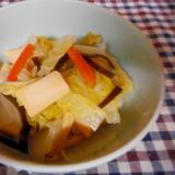 白菜と高野豆腐の昆布煮