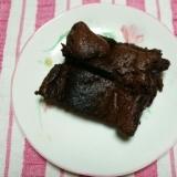 ふわふわ簡単チョコレートケーキ