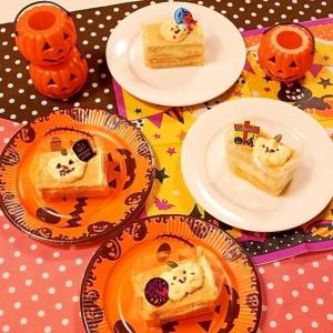 【ハロウィン2016】かぼちゃのミルフィーユ
