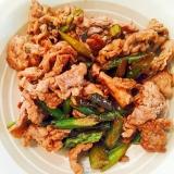 豚肉とアスパラ炒め