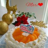 材料費¥250(笑)!!みかんケーキ