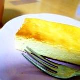 バニラ風味のスティックチーズケーキ