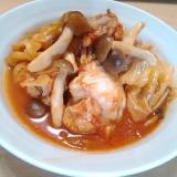 ★炊飯器DE 鶏手羽元とキャベツのトマト煮込み★