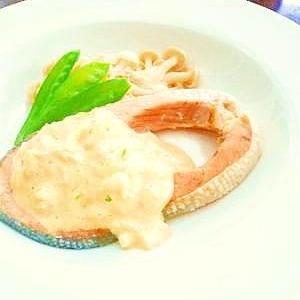 フライパンで一度に2品!鮭タル&ポテトマスタード