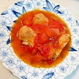 リコピンがいっぱい!鶏のトマト煮