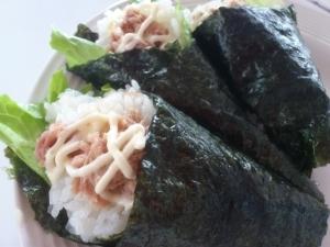 手巻き寿司☆ツナ