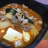韓国風味噌チゲ鍋
