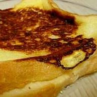 ピーナッツバターサンド・フレンチトースト