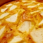 ホッケMIXのリンゴヨーグルトケーキ