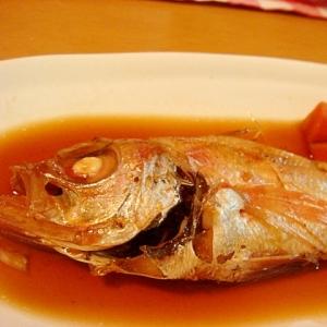 白身魚の煮付け(赤むつ)