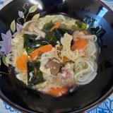 【野菜たっぷり】にゅうめん☆