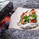 ピザ生地から作る★アウトドア ピザ