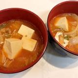 ひき肉と野菜たっぷりの☆豆腐チゲ