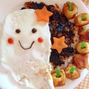 【ハロウィン2016】簡単★おばけの朝ご飯プレート