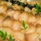 北寄貝の握り寿司