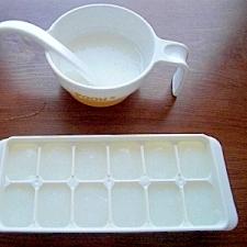 ☆ご飯から☆離乳食10倍つぶしがゆ