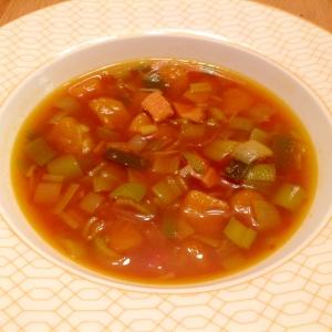 ネギとかぼちゃのスープ
