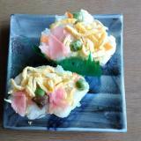 かんたん酢で押し寿司
