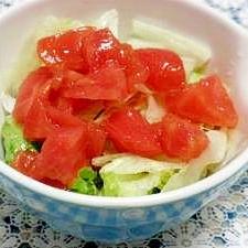 サラダにどうぞ♪トマトドレッシング