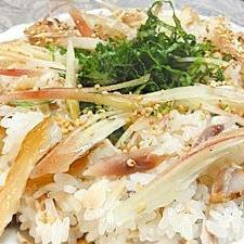 アジの干物で簡単寿司