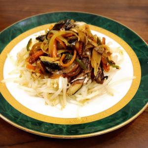 野菜たっぷり☆鯖と野菜のカレー炒め