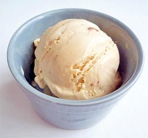 ピーナッツバターアイスクリーム