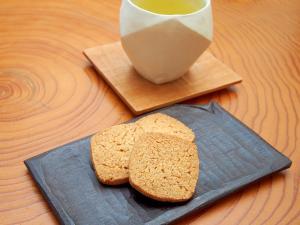 FP使用!ホロホロさっくり香ばしいライ麦サブレ